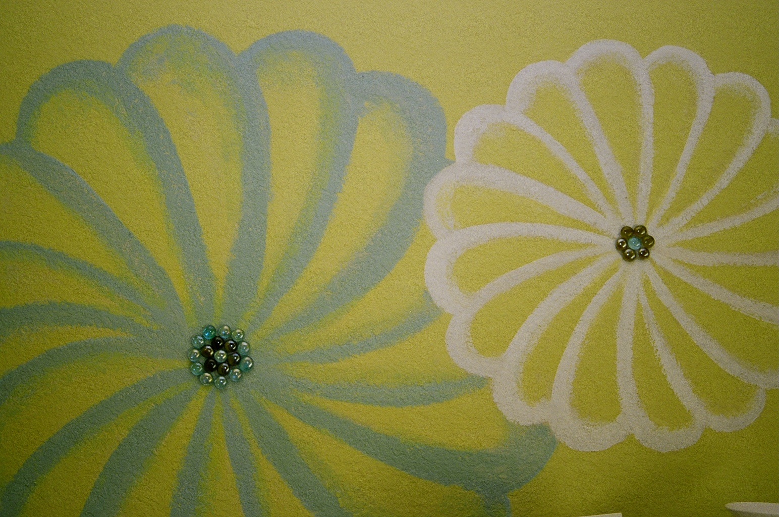 Murals faux finishes san antonio austin texas for Mural flower